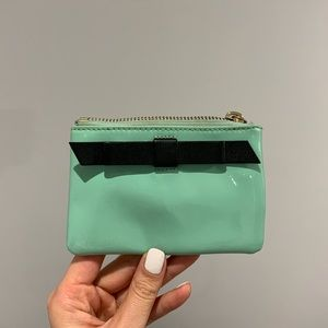 Kate Spade ♠️ Mint Green with Bow Coin Purse
